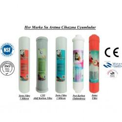 5 Mikron Sediment+CTO Karbon+1 Mikron Sediment+Post Karbon+Detox