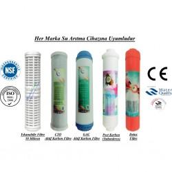Yıkanabilir+GAC Aktif Karbon+CTO Aktif Karbon+Post Karbon+Detox