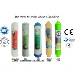 5 Mikron Sediment+GAC Karbon+CTO Karbon+Mineral+Alkali Filtre
