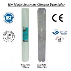 1 Mikron Pislik Süzücü+Kireç ve Korozyon Önleyici Silifoz