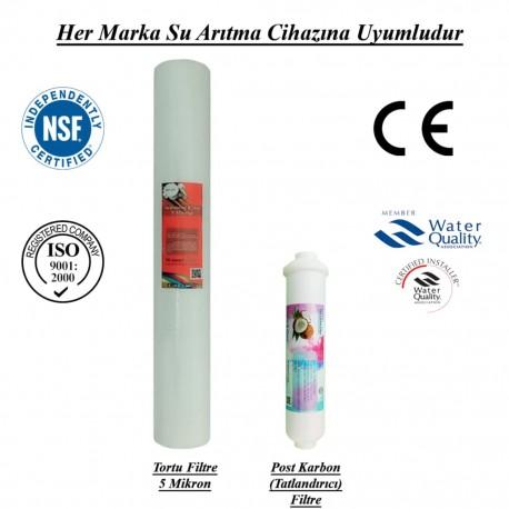 Pislik-Çamur-Pas Önleyici Spun+Koku ve Tat İyileştirici Filtre