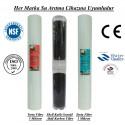 20 inç 5 Mikron Spun Shel GAC Karbon 1 Mikron Spun Filtre