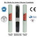 20 inç 5 Mikron Spun Shel GAC Karbon 5 Mikron Spun Filtre