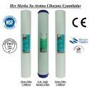 20 inç 1 Mikron Spun GAC Karbon 1 Mikron Spun Filtre