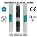 20 inç 1 Mikron Spun Shell Granül Karbon 1 Mikron Spun Filtre