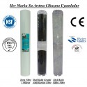20 inç 1 Mikron Spun Shell Karbon Kireç Önleyici Silifoz Filtre