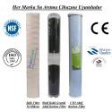 20 inç İplik Shell GAC Aktif Karbon CTO Aktif Karbon Filtre