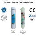 Su Arıtma 1 Mikron, Post Karbon Tatlandırıcı Filtre Seti