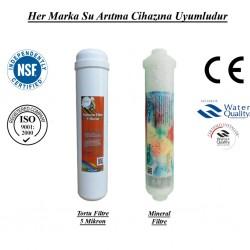 Su Arıtma 5 Mikron, Mineral Filtre Seti