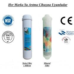 Su Arıtma 1 Mikron, Mineral Filtre Seti