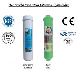 Su Arıtma 1 Mikron, Alkali Filtre Seti
