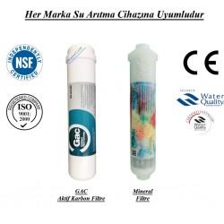 Su Arıtma GAC Aktif Karbon Filtre, Mineral Filtre Seti