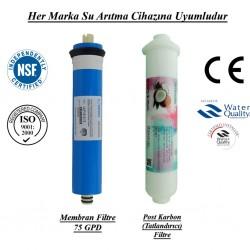 Su Arıtma Membran, Post Karbon Tatlandırıcı Filtre Seti