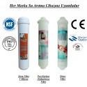 Su Arıtma 5 Mikron, Post Karbon ve Detox Filtre Seti