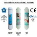Su Arıtma 1 Mikron, Post Karbon ve Detox Filtre Seti