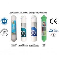 Su Arıtma 1 Mikron, GAC, CTO ve Alkali Filtre Seti
