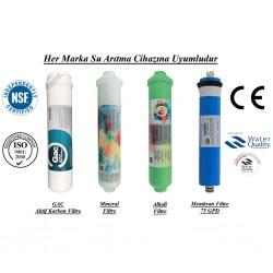 Su Arıtma GAC, Mineral, Alkali ve Membran Filtre Seti