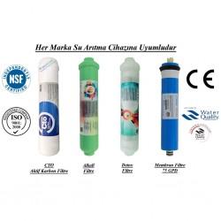 Su Arıtma CTO, Alkalin, Detox ve Membran Filtre Seti