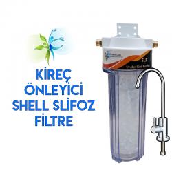 Mutfak Tezgahı Lavabo Evye Altı Kireç Önleyici Su Arıtma Filtresi