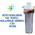 Mutfak Tezgahı Lavabo Evye Altı Su Arıtma Filtresi