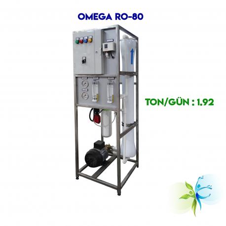 WaterGold Endüstriyel Su Aritma Cihazı OMEGA RO-80 Serisi Litre/Saat 80