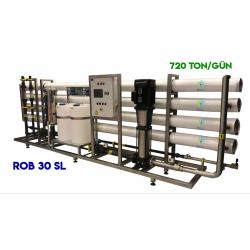 WaterGold Endüstriyel Su Aritma Cihazı RO 30 SL Serisi-720 Ton/Gün