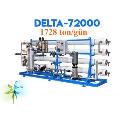 WaterGold Endüstriyel  Su Aritma Cihazi Delta-72000 Serisi