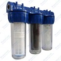 Daire Sayaç Girişi Kireç Koku Tortu Önleyici Su Arıtma Cihazı