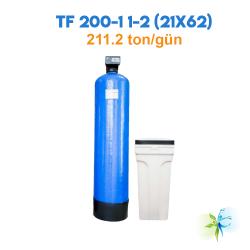 Watergold TF 200-1 1-2 (21X62) Model  Yüzey Borulamalı Yumuşatma  Filtrasyon Sistemi-211.2 ton/gün