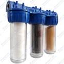 Daire Tipi Kireç Koku Tortu Önleyici Su Arıtma Sayaç Filtresi