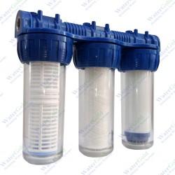 """Sayaç Girişi Su Arıtma Sistemi Filtresi 10"""" inç"""