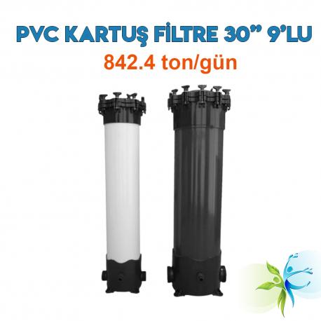 "Watergold 30"" 9'Lu PVC Model Su Arıtma Kartuş Filtre"