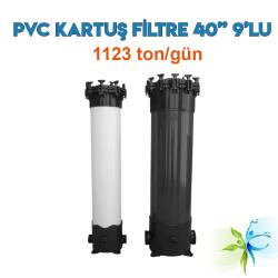 "Watergold 40"" 9'Lu PVC Model Su Arıtma Kartuş Filtre"