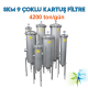 Watergold SKM 9 Model Su Arıtma Çoklu Kartuş Filtre