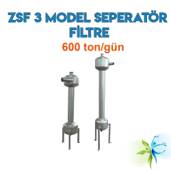 Watergold ZSF 3 Model Su Arıtma Seperatör Filtre