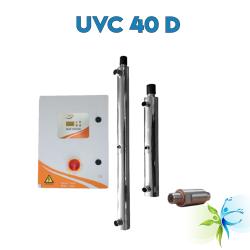 Watergold UVC 40 D Model  Mono Lamba Ultraviyole  Su Arıtma Sistemi