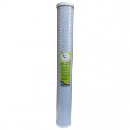 """WaterGold Su Arıtma Blok Aktif Karbon Filtre Kartuşu 20"""" inç 20"""" inç"""