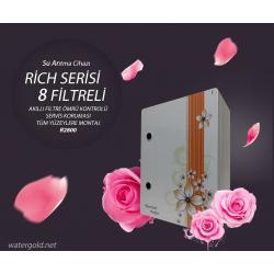 WaterGold Rich Serisi 8 Filtreli Su Arıtma Cihazı R2800
