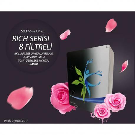 WaterGold Rich Serisi 8 Filtreli Su Arıtma Cihazı R4800
