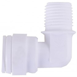 Su Arıtma Cihazı Pompa Motoru Dirseği 3/8 inç Quick 1/2 inç Npt