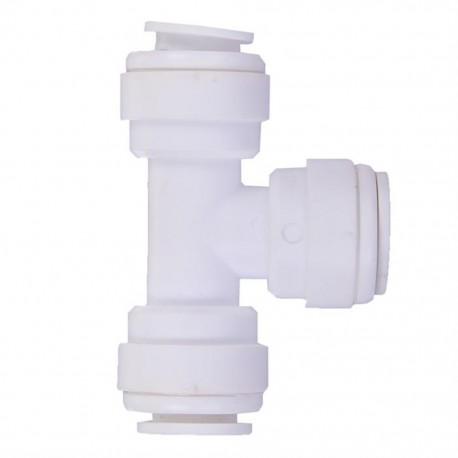Su Arıtma Cihazı T Bağlantı Nipeli 1/4 inç Quick