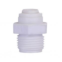 Su Arıtma Cihazı Filtre Bağlama Redüksiyonu 1/4 Quick 3/8 inç