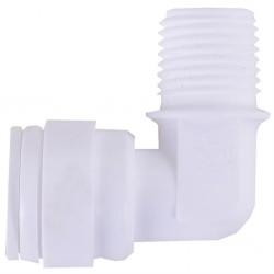 """Su Arıtma Cihazı Filtre Bağlantı Dirseği 3/8"""" NPT x 10 mm Quick"""