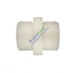 Su Arıtma Cihazı Ara Bağlantı Nipeli 1/2 x 1/2 inç Dış Diş