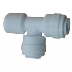 Su Arıtma Cihazı F Bağlantı Nipeli 1/4 inç NPT x 6 mm Quick