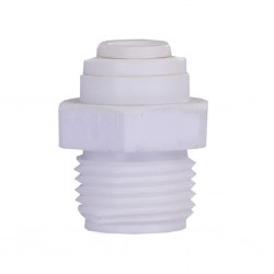 Su Arıtma Cihazı Bağlama Nipeli 1/4 Quick 1/4 inç Dış Diş