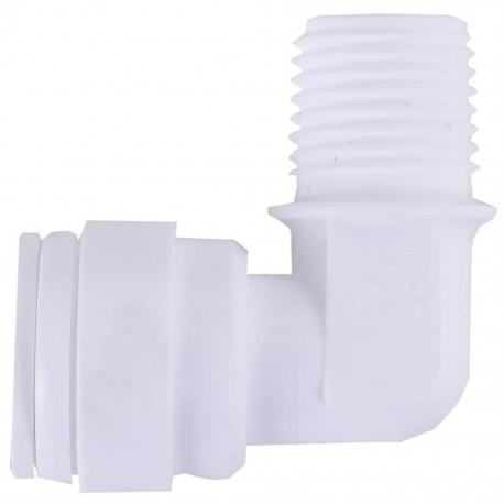 Su Arıtma Cihazı Filtre Dirseği 1/4 inç Dişli x 6 mm Somunlu