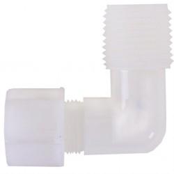 Su Arıtma Cihazı Filtre Bağlantı Dirseği 1/4 inç Dişli 6 mm Somun