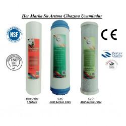 Pislik-Çamur-Pas Filtresi, 2 Adet Aktif Karbon Filtresi