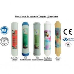 5 Mikron Sediment+GAC Karbon+CTO Karbon+Post Karbon+Mineral Filtre